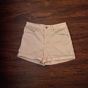 Forever21 Tan High Waisted Shorts.